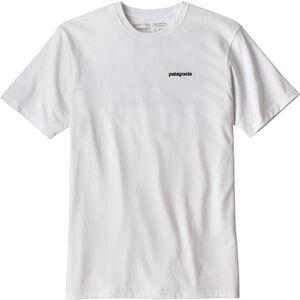 Patagonia P-6 Logo Responsibili Tee Herr white white