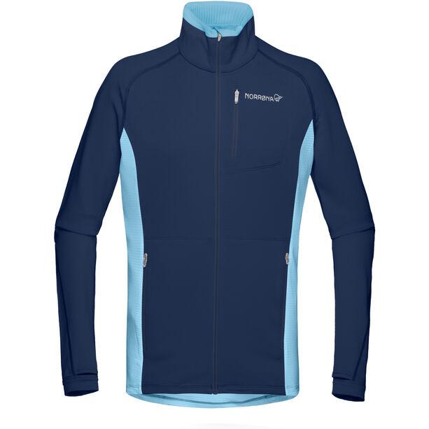 Norrøna Bitihorn Warm1 Stretch Jacket Dam trick blue