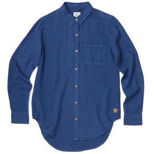 tentree Fernie EV2 LS Button Up Shirt Dam dark denim navy dark denim navy