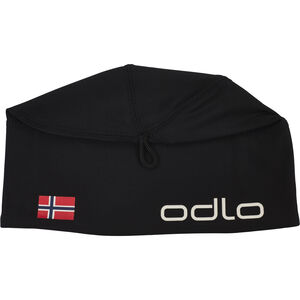 Odlo Polyknit Fan Warm Hat black-norwegian flag black-norwegian flag