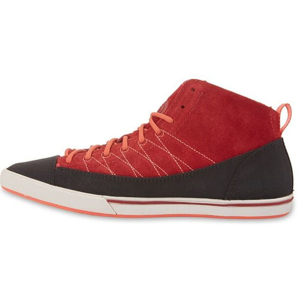 The North Face Base Camp Approach Mid Dam rosewood red/emberglow orange