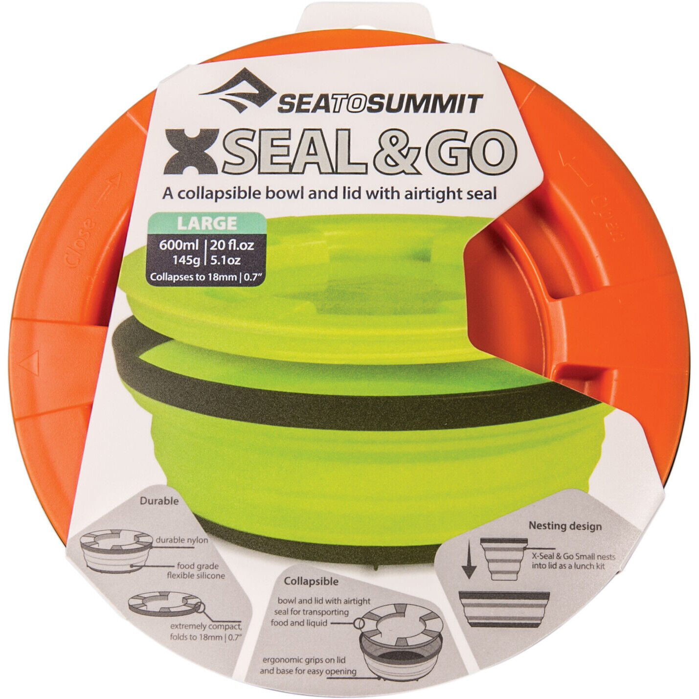 Sea to Summit X Seal & Go Large orange