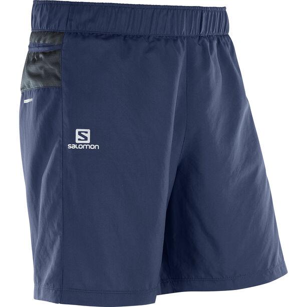 Salomon Trail Runner Shorts Herr dress blue