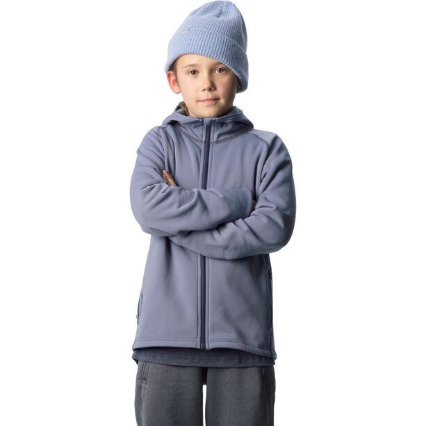 Houdini Power Houdi Jacket Ungdomar Spokes Blue