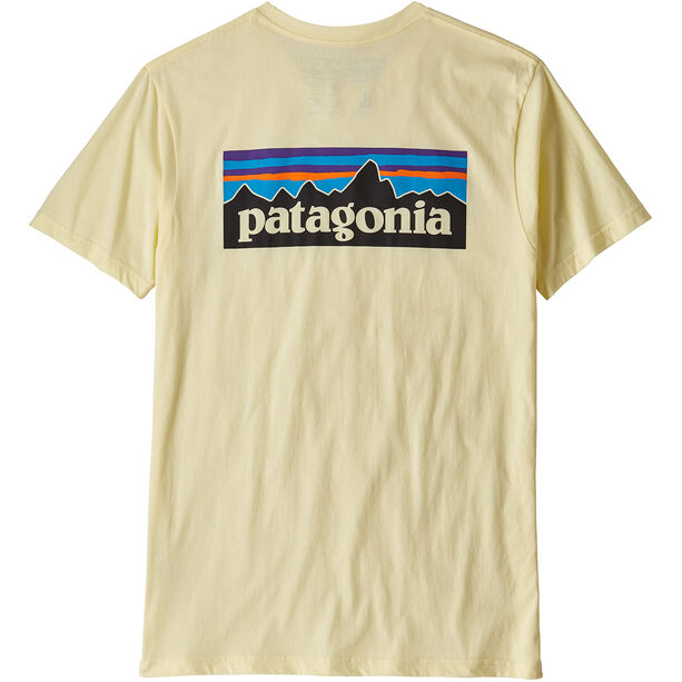 Patagonia P-6 Logo Organic T-shirt Herr resin yellow