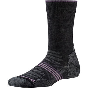 Smartwool PhD Outdoor Light Crew Socks Dam charcoal charcoal