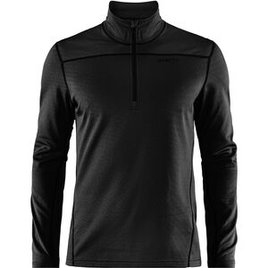 Craft Pin Half Zip Midlayer Herr black black