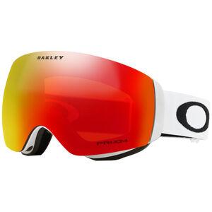 Oakley Flight Deck XM Snow Goggles Dam matte white/prizm torch iridium matte white/prizm torch iridium