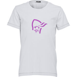 Norrøna /29 Cotton Logo T-Shirt Barn grey melange grey melange