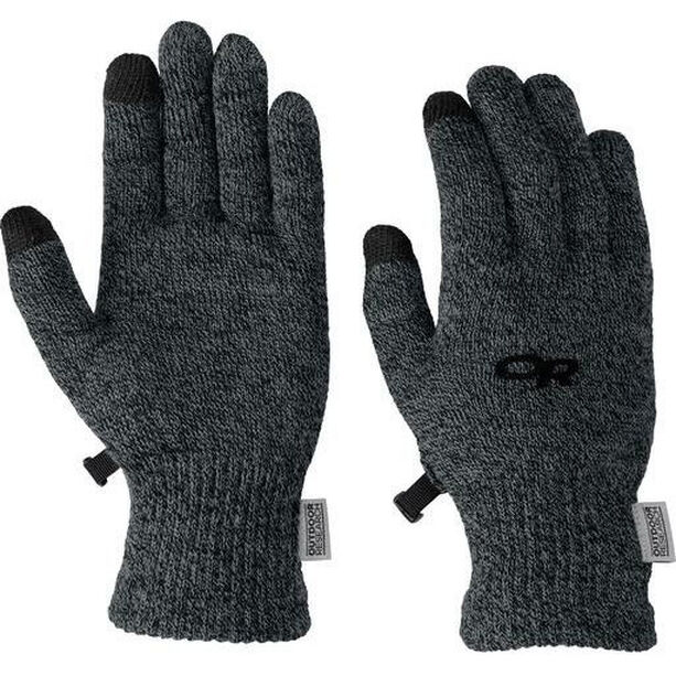 Outdoor Research Biosens Liners Gloves Herr charcoal