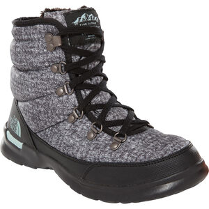 The North Face Thermoball Lace II Shoes Dam burnished houndstooth print/blue haze burnished houndstooth print/blue haze