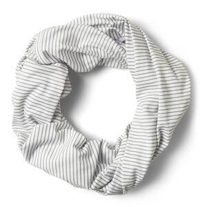 Craghoppers NosiLife Infinity Scarf soft grey marl stripe soft grey marl stripe