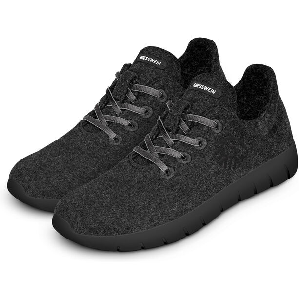 Giesswein Merino Runners Mid Shoes Dam anthracit