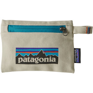 Patagonia Zippered Pouch S P-6 logo/bleached stone P-6 logo/bleached stone
