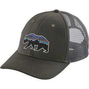 Patagonia Fitz Roy Bear Trucker Hat forge grey forge grey