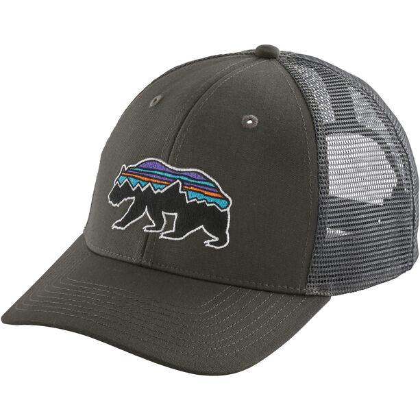 Patagonia Fitz Roy Bear Trucker Hat forge grey