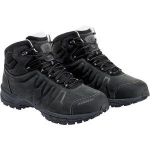 Mammut Mercury III Mid LTH Shoes Herr black-black black-black