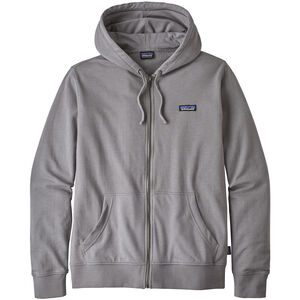 Patagonia P-6 Label Lightweight Full Zip Hoody Herr feather grey feather grey
