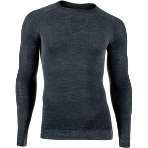 UYN Fusyon Cashmere UW LS Shirt Herr grey rock/black grey rock/black