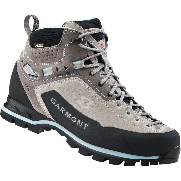 Garmont Vetta GTX Mid Cut Shoes Dam warm grey/light blue