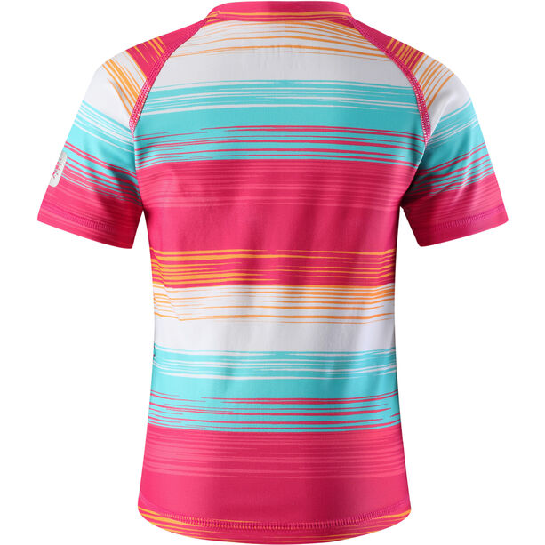 Reima Azores Swim Shirts Barn candy pink