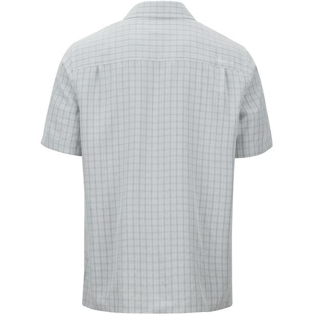 Marmot Eldridge SS Shirt Herr glacier grey
