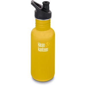 Klean Kanteen Classic Bottle Sport Cap 3.0 532ml lemon curry matt lemon curry matt