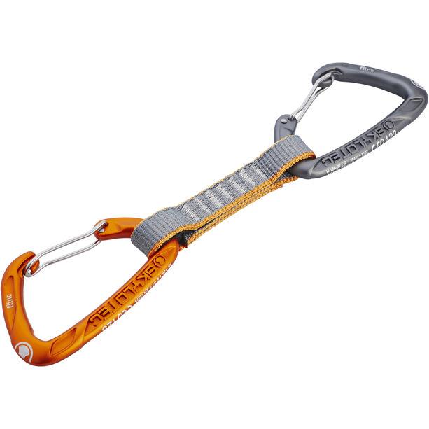 Skylotec Flint Express Wire Quickdraw 11cm light grey/orange