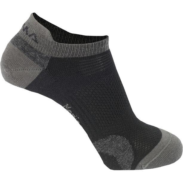 Aclima Ankle Socks 2-Pack jet black