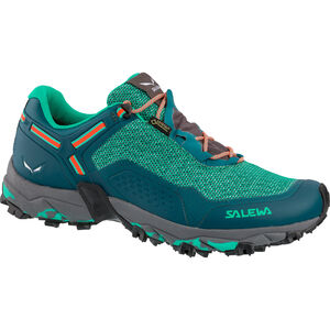 SALEWA Speed Beat GTX Shoes Dam shaded spruce/fluo coral shaded spruce/fluo coral