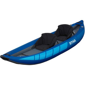 NRS STAR Raven II Inflatable Kayak blue blue
