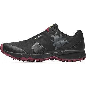 Icebug Pytho4 BUGrip Shoes Dam black/hibiscus black/hibiscus