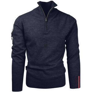 Amundsen Sports Peak Half Zip Pullover Herr faded navy faded navy