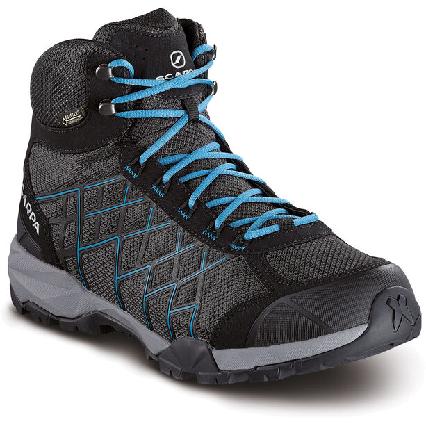 Scarpa Hydrogen Hike GTX Shoes Herr dark gray-lake blue