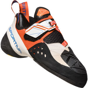 La Sportiva Solution Climbing Shoes Dam white/lily orange white/lily orange