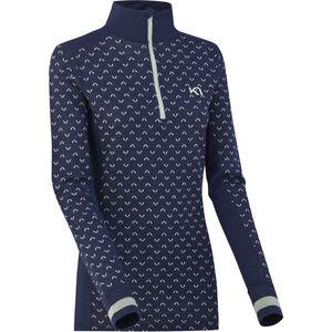 Kari Traa Lus Half-Zip Shirt Dam Naval Naval