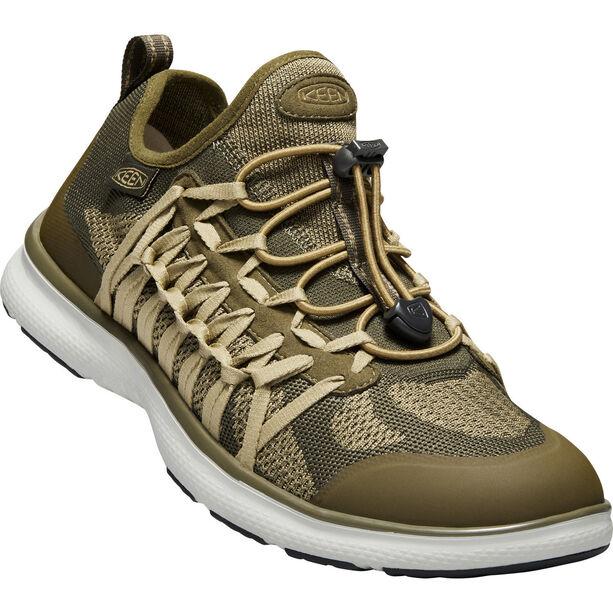 Keen Uneek Exo Shoes Herr dark olive/antique brass