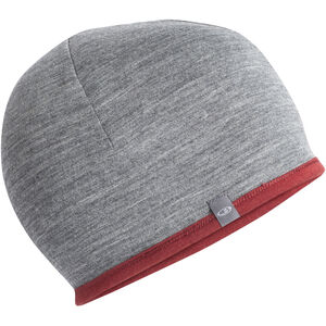 Icebreaker Pocket Hat cabernet/gritstone heather cabernet/gritstone heather