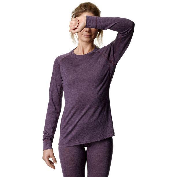 Houdini Activist Crew Shirt Dam pumped up purple