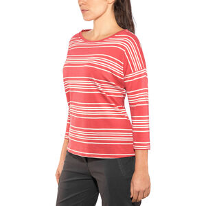 Patagonia Shallow Seas 3/4 Sleeved Top Dam lightning stripe: static red lightning stripe: static red