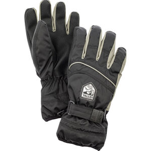Hestra Primaloft 5-Finger Gloves Barn black/earth black/earth