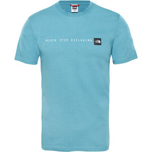 The North Face Never Stop Exploring S/S Tee Herr storm blue storm blue