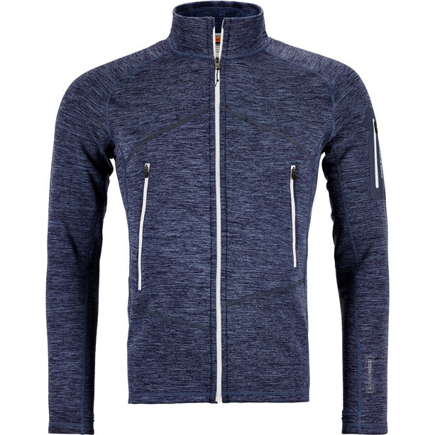 Ortovox Fleece Light Melange Jacket Herr night blue