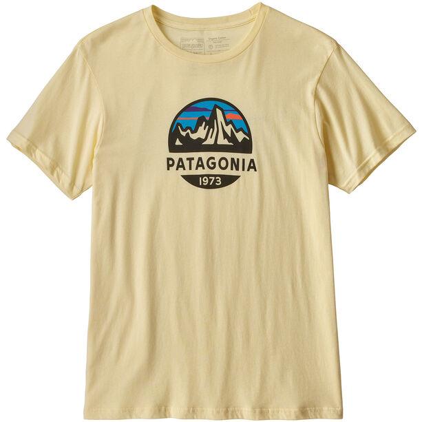 Patagonia Fitz Roy Scope Organic T-shirt Herr resin yellow