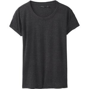 Prana Cozy Up Shortsleeve T-Shirt Dam charcoal heather charcoal heather
