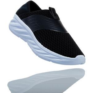 Hoka One One Ora Recovery Shoes Dam black/phantom black/phantom