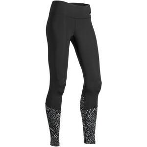 2XU Refl Run Mid Tights with Back Stor Dam black/silver glo reflective black/silver glo reflective