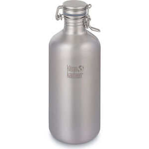 Klean Kanteen Growler Bottle Swing Lok Cap 1900ml brushed stainless brushed stainless