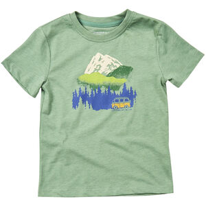 United By Blue Get Away Ride SS Graphic Tee Barn fern green fern green