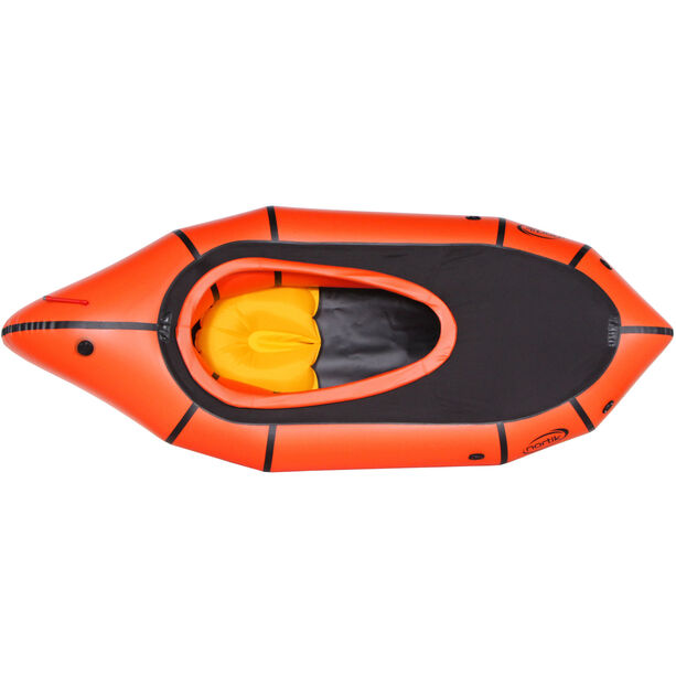 nortik TrekRaft Expedition Boat with Hood orange/black